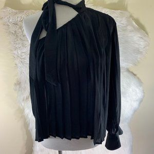 Endless Rose NWT Black One Shoulder Size Small